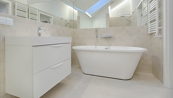 Bathroom Remodeling installed by East Point Home Improvement